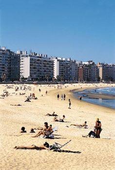 Playa de Pocitos - Montevideo