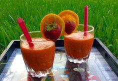 Priya's Page: Sunrise to Sunset Drink