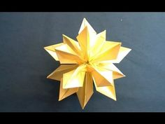 Origami Sparkle Ball Tutorial (Tadashi Mori)