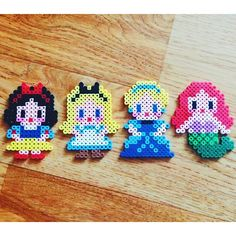 Disney Princess perler beads by dy_dada