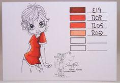 Heather's Hobbie Haven - Copic Marker Color Combo
