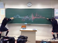 Harry Potter vs Voldemort reenacted by Japanese schoolgirls. via tumblr - uncannyvalleyofthedolls