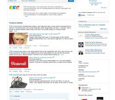 New format size images Company status updates - LinkedIn New design 2012