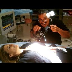 #castle BTS 5: FBF-- this mad scientist has been the mastermind behind pretty much every near-death episode my character has shot. Let's see... Bullets, explosion, drowning, water boarding, psycho face scalping... To name a few.  Rob Bowman is an extraordinary director. Passionate about his work. Great joy to learn from & work with you, bud.
