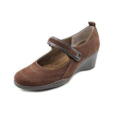 Aerosoles Womens Tornado Mary Jane WedgeBrown Nubuck7 M US * You can get more details by clicking on the affiliate link Amazon.com.