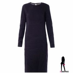 Maison Martin Margiela Creased Wool Dress 38, 40 NWOT Stunning, chic, edgy black Creased Wool dress by Maison Martin Margiela (not for H & M). Up your little black dress game. Back is slightly sheer but can easily accommodate a black bra strap. 60% poly, 40% wool. Fully lined. Available in 38 (US 6) and 40 (US8). Measurements available on request. Maison Martin Margiela Dresses