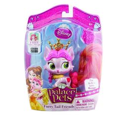 Disney Princess Palace Pets Furry Tail Friends Belle's Kitty Rouge Doll NIP #Disney