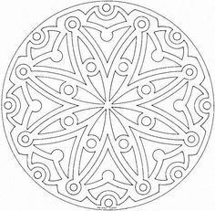 Mandalas para imprimir - Imagui