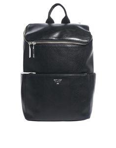 Image 1 ofMatt & NatBrave Simple Backpack in Black