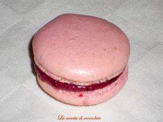 la casetta di cioccolato: Macarons ai frutti di bosco