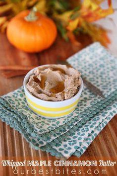 Maple Cinnamon Butter - Our Best Bites