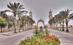 Entrance to Saint Mina Monastery, Alexandria (Egypt)