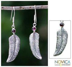 http://jewelry.novica.com/earrings/dangle/under-%2425/garnet-dangle-earrings-light-as-a-feather/139357/