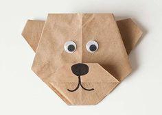 Bear Paper Folding