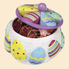 Resin Easter Potpourri Jar at just 4.49. WOW so sweet!