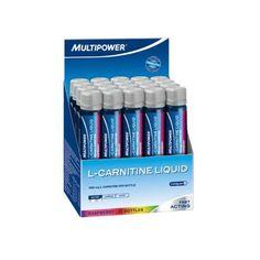 Multipower - L-Carnitin Liquid 20x25ml.L-Carnitin Liquid liefert deinem Körper L-Carnitin.