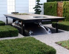 Cardok created a system to bring underground parking to your home. This design is both safe and efficient, allowing you to make use with your current space to park your vehicle underground.