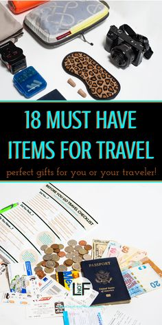 Knowing what to bring on a trip can be a hard thing to determine. These are some great items that you might overlook but will be happy to have when you arrive at your destination!   What to pack   Useful things   How to Travel  #TravelGifts #PackingList #GiftGuide