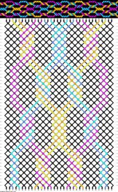 Muster # 30262, Streicher: 34 Zeilen: 52 Farben: 7
