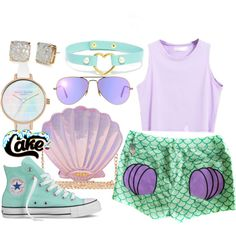 A fashion look from May 2016 featuring Converse sneakers, Kate Spade earrings and Ray-Ban sunglasses. Browse and shop related looks.