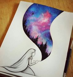 Cool Drawing Galaxy Painting Cool Drawings Disney Art Easy Drawings And Paintings Realistic Drawings And Colorful Paintings By Xane Asiamah Artsy Drawing Pictures Painting Drawings Or Painting At Paintingvalley Com…Read more of Drawings For Paint Beautiful Drawings, Cute Drawings, Awesome Drawings, Beautiful Images, Art Drawings Easy, Hard Drawings, Unique Drawings, Pretty Easy Drawings, Drawings Of Skulls