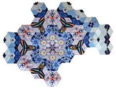 The New Hexagon Millefiore Quilt-Along: Rosette #3
