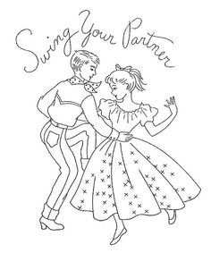 Square Dance Swing Your Partner
