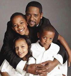 Blair Underwood and children