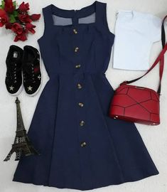 fashion dresses casual over 40 Girls Fashion Clothes, Teen Fashion Outfits, Girly Outfits, Cute Casual Outfits, Skirt Outfits, Fashion Dresses, Stylish Dresses, Cute Dresses, Casual Dresses