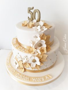Jaime Cakes Kendal is an established local business providing home made bespoke cakes and cupcakes in Kendal and surrounding areas. 50th Wedding Anniversary Cakes, Wedding Cakes, 50 Anniversary, Bolo Floral, Occasion Cakes, Celebration Cakes, Cupcake Cakes, Cupcakes, Cakes And More