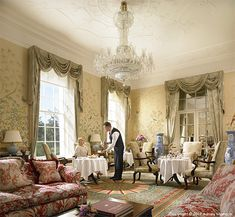 The Chinese Drawing Room at the Kildare Hotel, Spa and Country Club in County Kildare. Morrisons, Drawing Room, Hotel Spa, Staging, Hospitality, Chinese, Club, Country, Model
