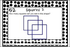 Fun math brain teasers! This collection of Printable Math Problems and Math Brain Teasers Cards from Games 4 Learning contains 66 printable math brain teasers.$