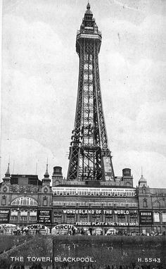 Portrait image of The Blackpool Tower. Blackpool England, British Seaside, Portrait Images, Burnley, Southport, Great British, Old Pictures, Landscape Photography, Tower
