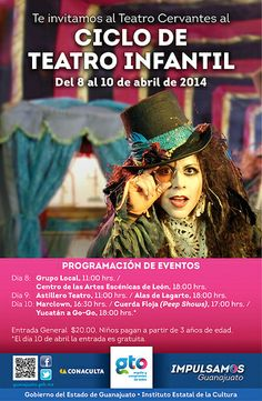 Asiste al Ciclo de Teatro Infantil en el Teatro Cervantes