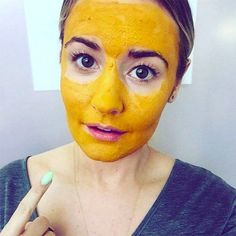 """Turmeric face masks have been popping up all over social media, and this is one social media beauty trend we can get behind! Turmeric - and yes, you pronounce the """"r"""" - is a spice commonly used in curries, comes from the ginger family, and is also used as a fabric dye. But it has a variety of skin and hair benefits, too!    For instance, turmeric is great for hair growth when you drink it with milk and honey . Or, alternatively, you can get rid of facial hair by using it as a mask and…"""