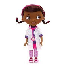 Doký Doktorka plyšáková panenka mluvící > varianta 1b