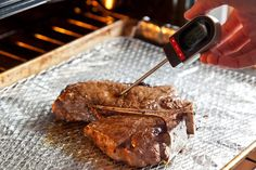 how to cook a steak in a pan broil oven