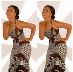 Nadia Buari New Stunning Look ♡African Fashion ღ ♡ ♡ ღ Ghanaian fashion ~DKK African Dresses For Women, African Print Dresses, African Attire, African Wear, African Women, African Prints, African Style, African Outfits, African Clothes