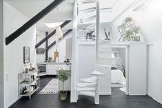 Você conhece o Estilo escandinavo de decoração, o melhor amigo daqueles que moram em casas e apartamentos pequenos? Esta linda kitnet de apenas 59 metros q