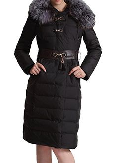 Wanon Women's Winter Large Fur Collar Hooded Puffer Down Coat Parka  http://www.yearofstyle.com/wanon-womens-winter-large-fur-collar-hooded-puffer-down-coat-parka/