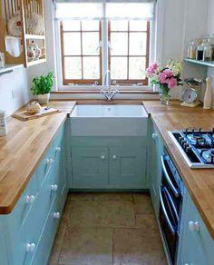 cute-kitchen-u-ตกแต่งห้องครัวขนาดเล็กรูปตัวยู-4