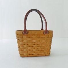 $68, Longaberger Basket Purse on Etsy