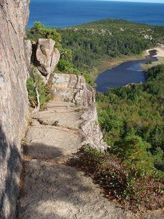 Acadia National Park - Beehive Loop - Maine Trail Finder