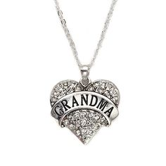 1 Carat Grandma Heart Necklace