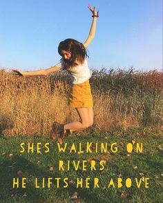 she's walking on rivers// he lifts her above (dodie) created and uploaded by ashlin (@ashlin1025)