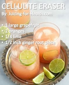Juice Recipe to Blast Away Cellulite and Flush Out Toxins - 13 Homemade Cellulite Remedies, Exercises and Juice Recipes