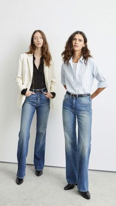 Shirts & Tops, Vogue Paris, Denim Outfit For Women, Outfits Mujer, Denim Trends, Models, Mannequins, Denim Fashion, Jeans Style