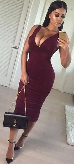 More than 12 ideas to combine with red wine colour|  #Moda & #Girls #Woman Mckela
