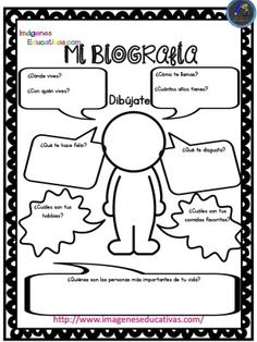 Autobiografía para niños Primaria y Primer Grado ¿Cómo escribir una biografía? Primaria Decide la persona sobre la que vas a escribir: De forma individual los alumnos/as elegirán un personaje que les llame la atención. En...