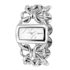 DKNY Women's NY4367 Textured Silvertone Dial Watch DKNY. $120.99. Stainless steel case. Durable mineral crystal. Case diameter: 38mm. Water-resistant to 99 feet (30 M). Quartz movement
